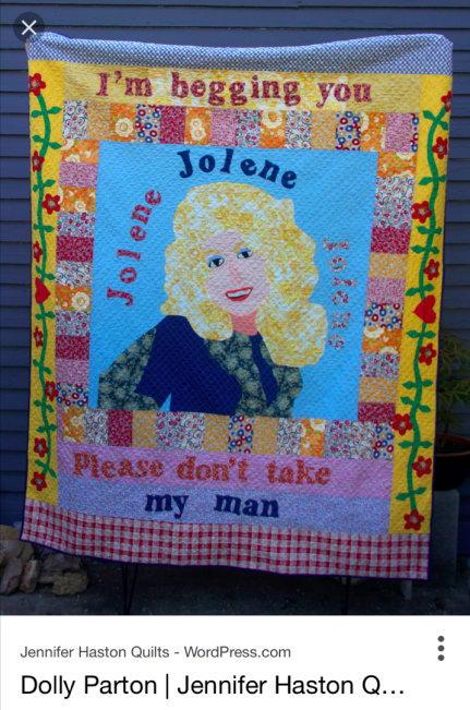 Dolly Parton Quilt